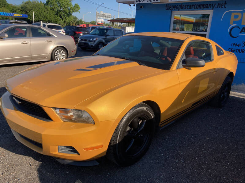 2012 Ford Mustang for sale at The Peoples Car Company in Jacksonville FL
