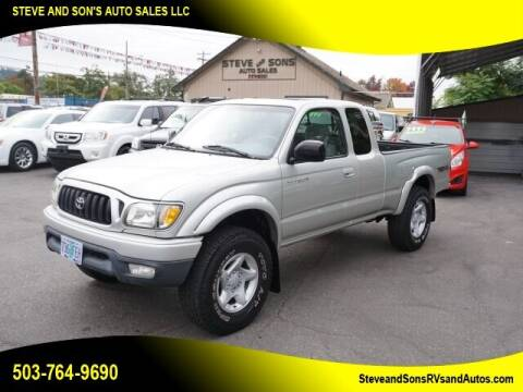 2001 Toyota Tacoma for sale at Steve & Sons Auto Sales in Happy Valley OR