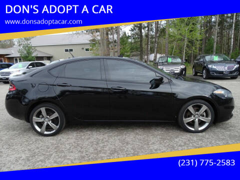 2013 Dodge Dart for sale at DON'S ADOPT A CAR in Cadillac MI