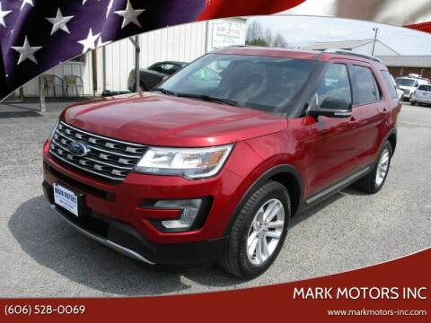 2017 Ford Explorer for sale at Mark Motors Inc in Gray KY