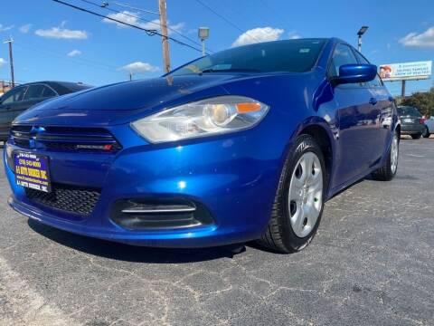 2013 Dodge Dart for sale at A-1 Auto Broker Inc. in San Antonio TX