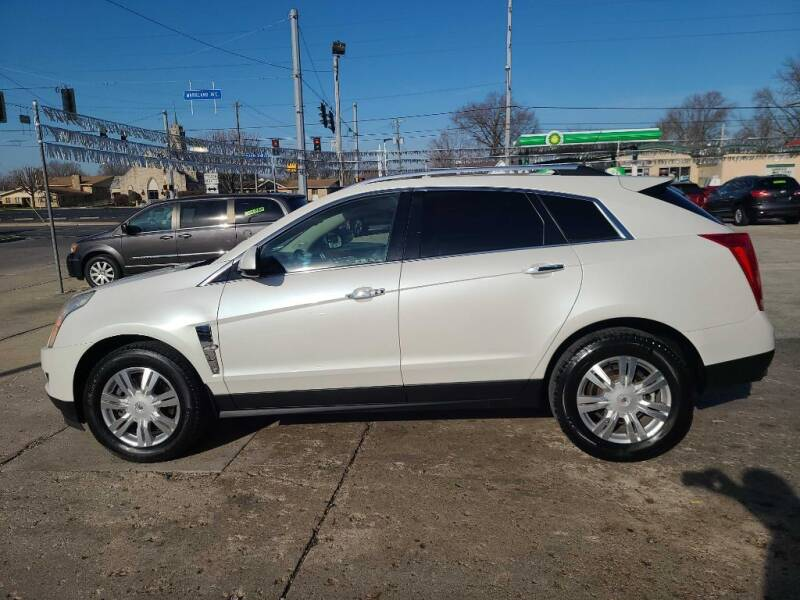 2012 Cadillac SRX for sale at Bob Boruff Auto Sales in Kokomo IN