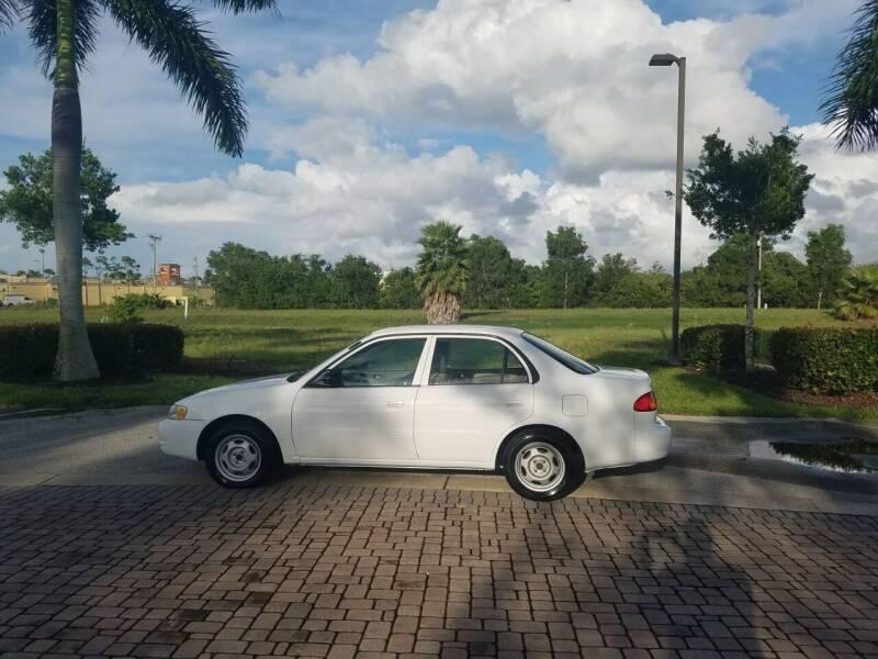 2000 Toyota Corolla for sale at World Champions Auto Inc in Cape Coral FL