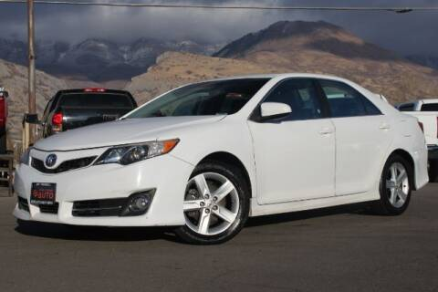2012 Toyota Camry for sale at REVOLUTIONARY AUTO in Lindon UT