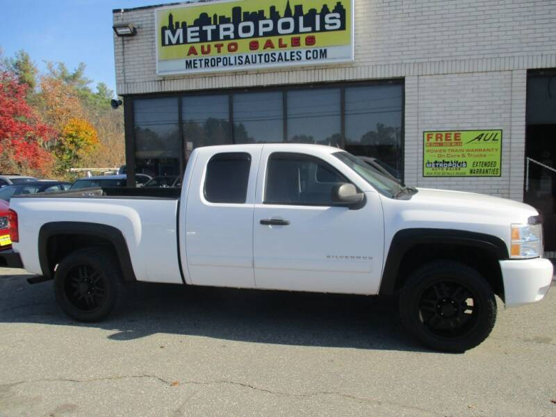 2011 Chevrolet Silverado 1500 for sale at Metropolis Auto Sales in Pelham NH