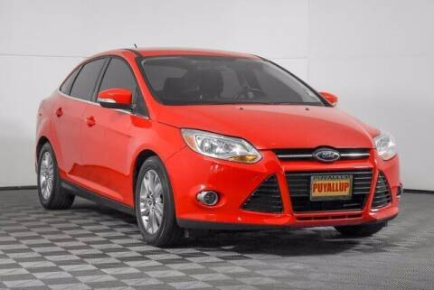 2012 Ford Focus for sale at Washington Auto Credit in Puyallup WA
