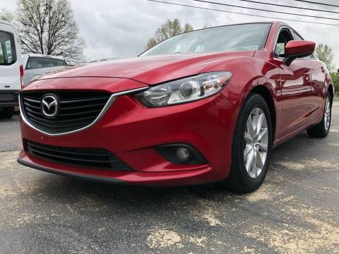 2017 Mazda MAZDA6 for sale at Capital Motors in Raleigh NC