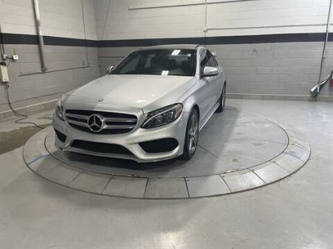 2015 Mercedes-Benz C-Class for sale at Luxury Car Outlet in West Chicago IL