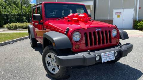 2010 Jeep Wrangler Unlimited for sale at Speedway Motors in Paterson NJ