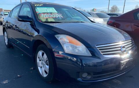 2007 Nissan Altima for sale at American Motors Inc. - Belleville in Belleville IL