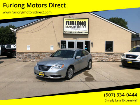 2012 Chrysler 200 for sale at Furlong Motors Direct in Faribault MN