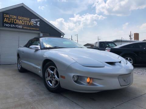 2002 Pontiac Firebird for sale at Dalton George Automotive in Marietta OH