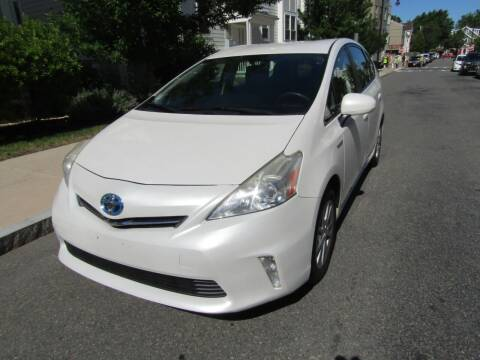 2012 Toyota Prius v for sale at Boston Auto Sales in Brighton MA