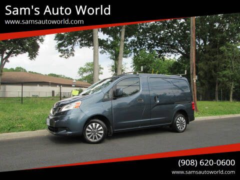2017 Nissan NV200 for sale at Sam's Auto World in Roselle NJ