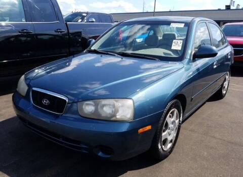 2003 Hyundai Elantra for sale at Angelo's Auto Sales in Lowellville OH