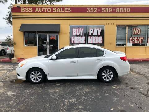 2010 Subaru Legacy for sale at BSS AUTO SALES INC in Eustis FL