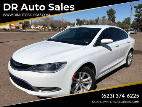2015 Chrysler 200 for sale at DR Auto Sales in Glendale AZ
