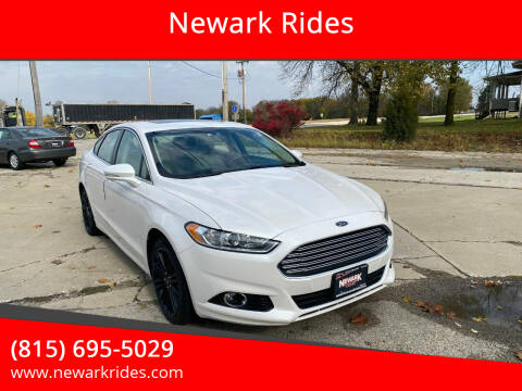 2015 Ford Fusion for sale at Newark Rides in Newark IL