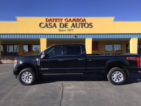 2017 Ford F-350 Super Duty for sale at CASA DE AUTOS, INC in Las Cruces NM