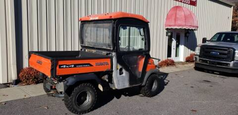 2013 Kubota RTV900 for sale at Bethlehem Auto Sales LLC in Hickory NC