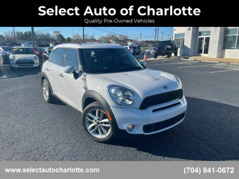 2014 MINI Countryman for sale at Select Auto of Charlotte in Matthews NC