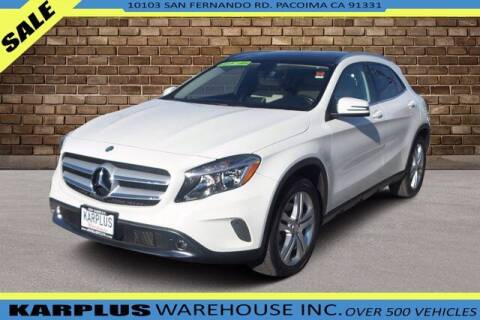 2015 Mercedes-Benz GLA for sale at Karplus Warehouse in Pacoima CA