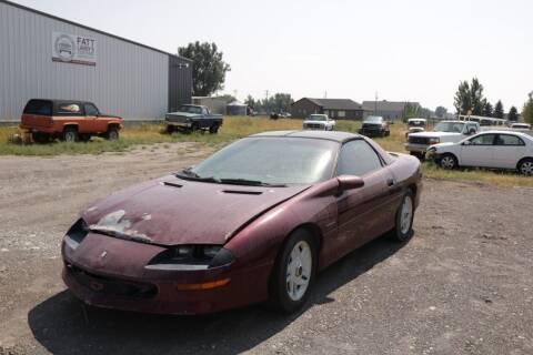 1995 Chevrolet Camaro for sale at Fatt Larry's Customs in Sugar City ID