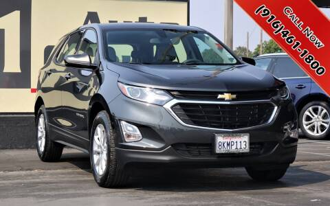 2019 Chevrolet Equinox for sale at H1 Auto Group in Sacramento CA
