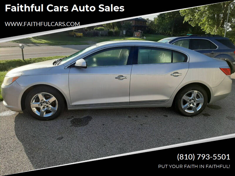 2010 Buick LaCrosse for sale at Faithful Cars Auto Sales in North Branch MI