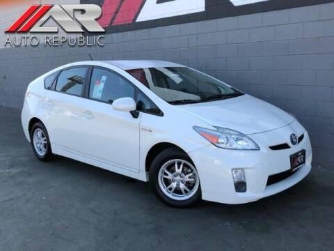 2011 Toyota Prius for sale at Auto Republic Fullerton in Fullerton CA