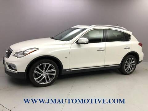 2017 Infiniti QX50 for sale at J & M Automotive in Naugatuck CT