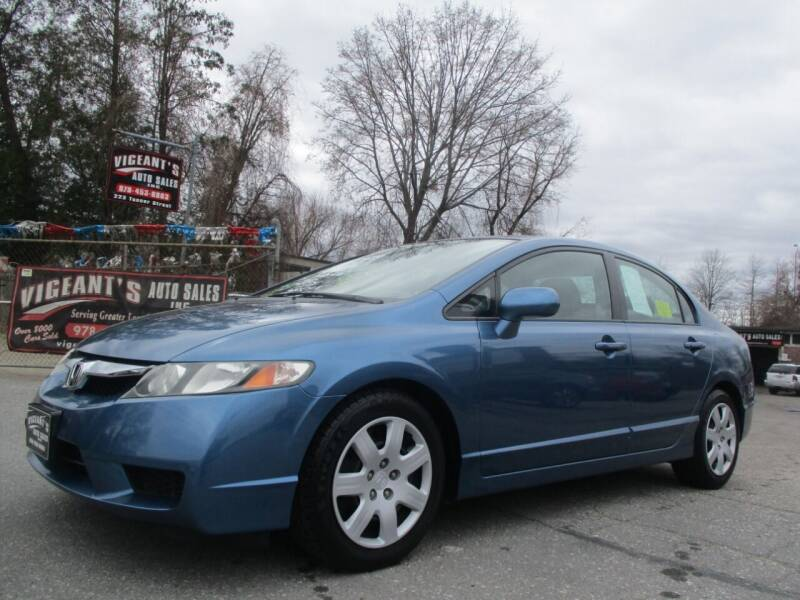 2009 Honda Civic for sale at Vigeants Auto Sales Inc in Lowell MA