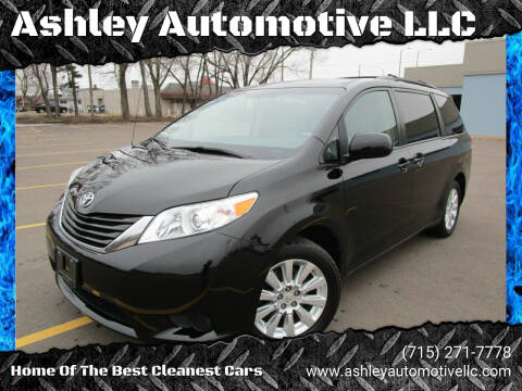 2012 Toyota Sienna for sale at Ashley Automotive LLC in Altoona WI