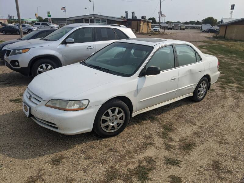 2002 Honda Accord for sale at BERG AUTO MALL & TRUCKING INC in Beresford SD