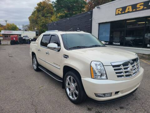 2010 Cadillac Escalade EXT for sale at R.A.S. Auto Sales Inc. in Pittsburgh PA