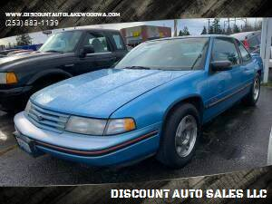 1992 Chevrolet Lumina for sale at DISCOUNT AUTO SALES LLC in Lakewood WA