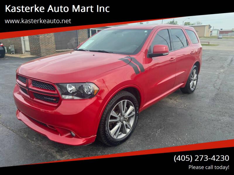 2013 Dodge Durango for sale at Kasterke Auto Mart Inc in Shawnee OK