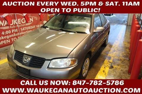 2006 Nissan Sentra for sale at Waukegan Auto Auction in Waukegan IL