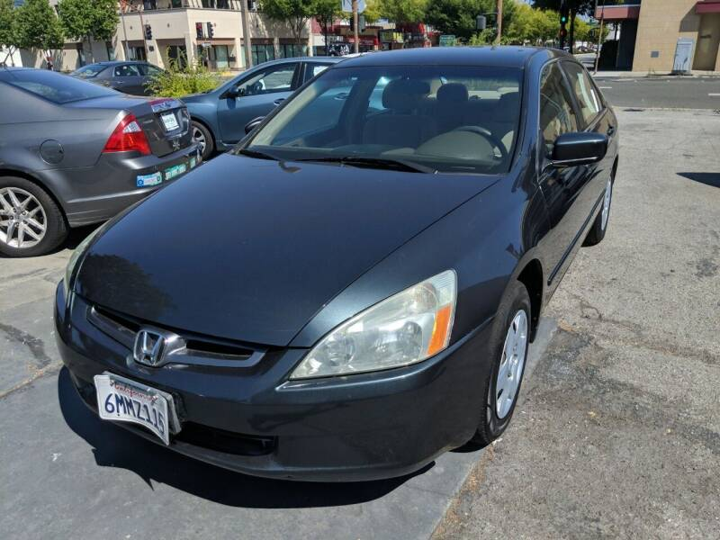 2005 Honda Accord for sale at Auto City in Redwood City CA