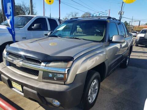 2003 Chevrolet Avalanche for sale at Abel Motors, Inc. in Conroe TX
