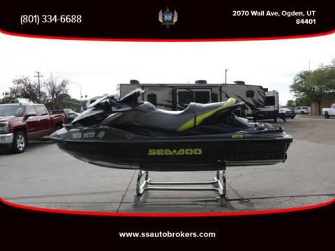 2015 Sea-Doo GTX 1S 260 for sale at S S Auto Brokers in Ogden UT