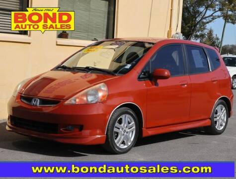 2008 Honda Fit for sale at Bond Auto Sales in St Petersburg FL