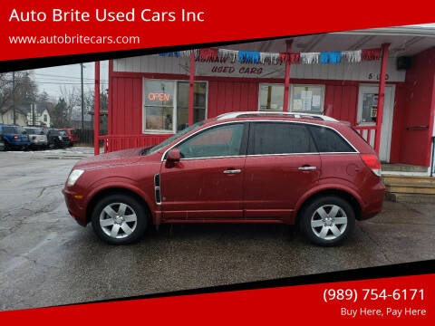 2008 Saturn Vue for sale at Auto Brite Used Cars Inc in Saginaw MI