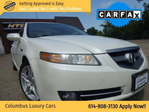 2008 Acura TL for sale at Columbus Luxury Cars in Columbus OH
