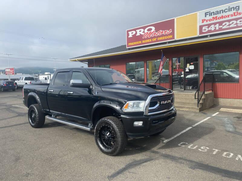 2013 RAM Ram Pickup 2500 for sale at Pro Motors in Roseburg OR
