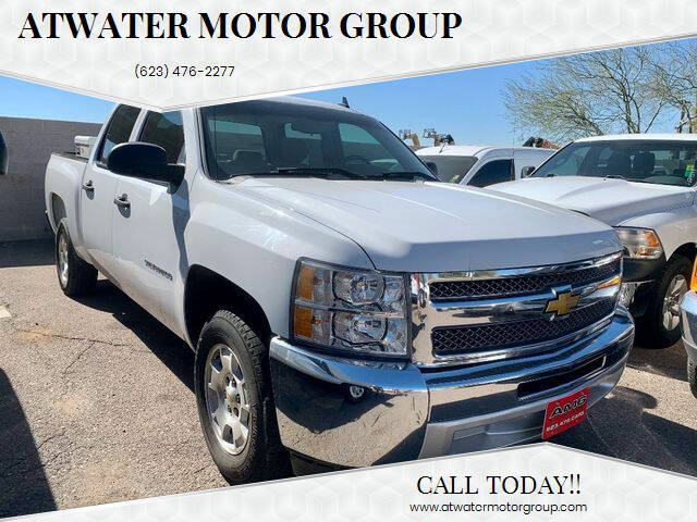 2013 Chevrolet Silverado 1500 for sale at Atwater Motor Group in Phoenix AZ