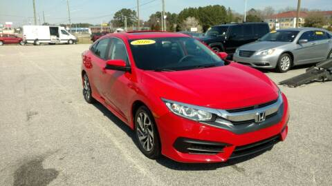 2016 Honda Civic for sale at Kelly & Kelly Supermarket of Cars in Fayetteville NC