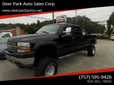 2002 Chevrolet Silverado 2500HD for sale at Deer Park Auto Sales Corp in Newport News VA