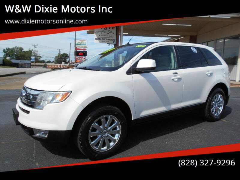 2010 Ford Edge for sale at W&W Dixie Motors Inc in Hickory NC