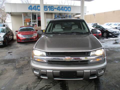 2007 Chevrolet TrailBlazer for sale at Elite Auto Sales in Willowick OH
